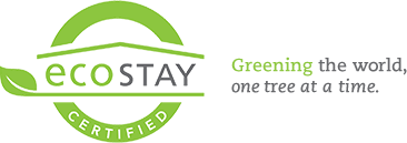 EcoStay - Greening the world one night at a time.